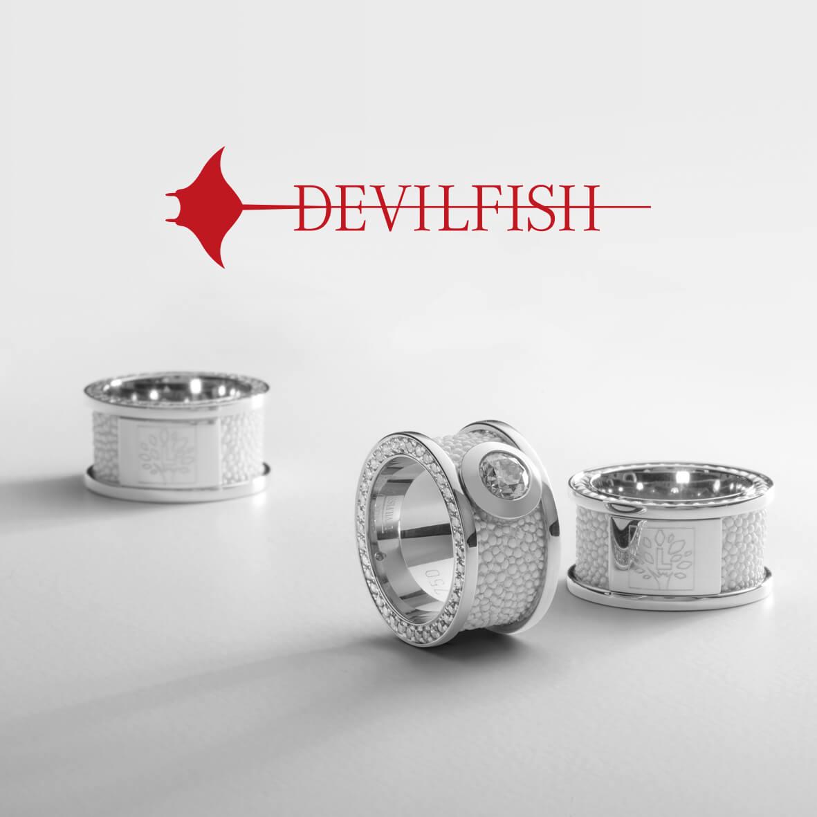 Devilfish-Ringe - Branding